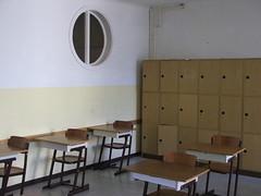 DSCF4579 (lxgr) Tags: school spar th150507x1 vorbereitungszeit