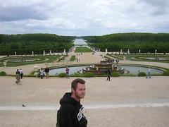 Gary in Versailles