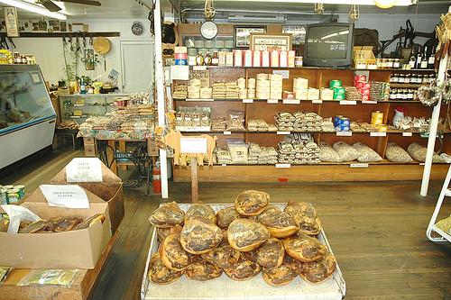 Adams' Peanuts store interior