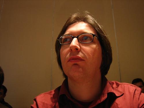 Me looking smart