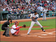 Gary Sheffield at Bat