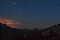 20070512044600yosemitenp olmsteadpoint halfdome twilight stars (midendian) Tags: blue orange snow clouds sunrise stars twilight purple yosemite granite halfdome noiseninja firstlight starlight cloudsrest olmsteadpoint littleyosemitevalley yosemitenp
