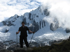 Simon on the Santa Cruz Trek near Huaraz in Ancash, Peru.