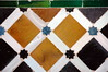oxo (loufi) Tags: orange art geometric lines square stars cycling spain andalucia arabic tiles alhambra moorish moor geo patroon vierkantjes