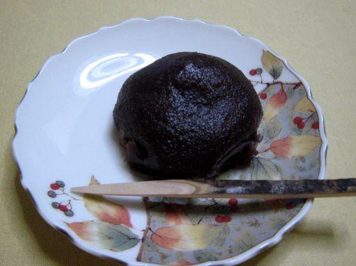 京都・城南宮62 おせきもち9 おはぎ