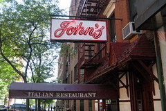 NYC - East Village - John's Italian Restaurant by wallyg, on Flickr