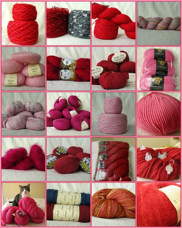 Red and Pink Stash