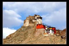 Leh palace (R.K.Gupta) Tags: mountain nature landscape indian leh patna neture