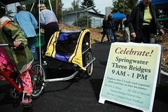 Three Bridges opening celebration