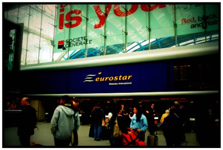 Eurostar Station @ Waterloo