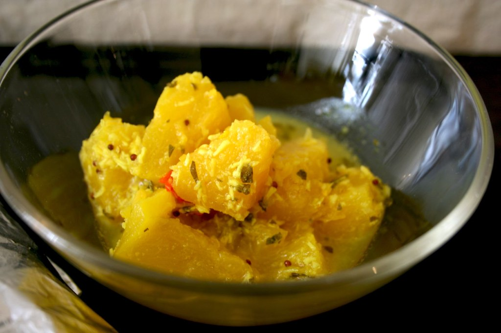 Curried Pineapples