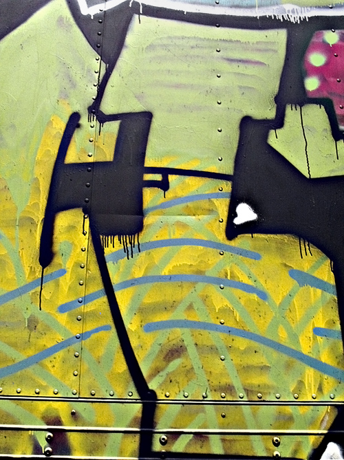 graffiti close-up