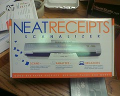 Scanalizer. (rfelix) Tags: moblog scanner review businesscards receipts fresharrival scanalizer