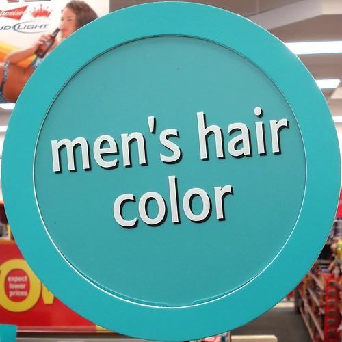 men's hair color