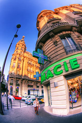 Pharmacy, Paris (The Other Martin Tenbones) Tags: paris france shop fisheye pharmacy 16 hdr pharmacie 400d alboni p1f1