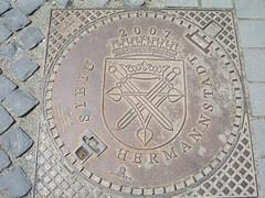 Manhole cover, Sibiu