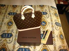 Louis Vuitton - Alma Sac de Ville & Koala Bracelet Multicolore