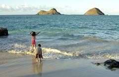 Lanikai playground (Mark Ramelb Photography) Tags: beach hawaii oahu kailua lanikai mokuluaislands