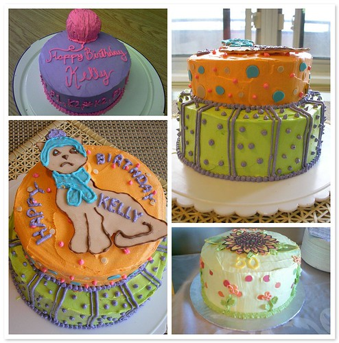 Birthday Cakes by Amber Mosaic