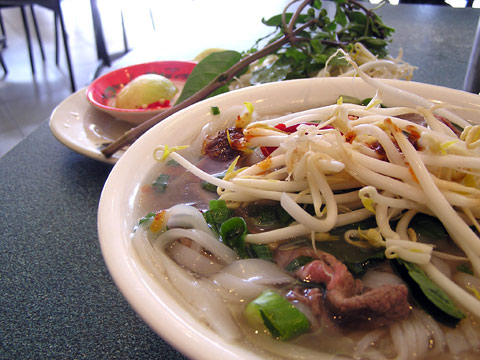 Pho from Pho Dzung Melbourne