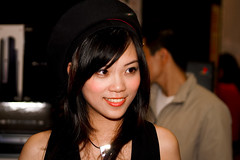 PICT1621 (Luke Luo) Tags: show portrait people woman cute girl beautiful beauty face asian model women asia pretty minolta sweet femme taiwan babe showgirl belle taipei konica   sg 2007   konicaminolta boothbabe d5d boothbunny    21192181n00