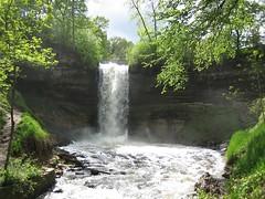 Minnehaha Falls Minneapolis Minnesota - by Jim