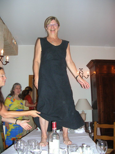 my mother dances on tables..