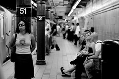 janelle (puja) Tags: nyc newyorkcity blackandwhite bw 510fav subway 50mm lenstagged 300d yes canondigitalrebel canon50f18 50mm18 canon50mm18 nellstar tenpositive