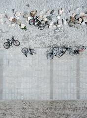 Bicycles at the Beach (KAP Cris) Tags: kite copenhagen denmark photography aerial bicycles kap kastrup