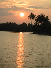 on the backwaters of lovely kerala
