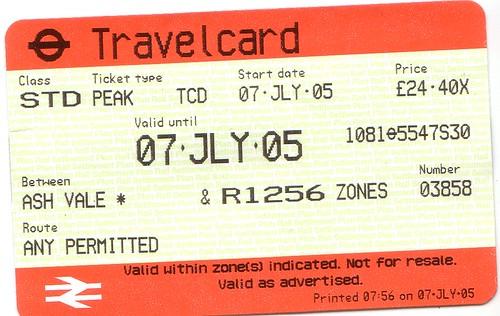 My Travelcard
