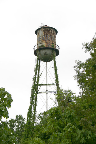 Water Tower, across from McCarty's Pottery in Merigold MS