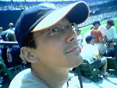 Sharif at the Ballgame (Indiana Joanna) Tags: camdenyards sharif
