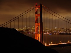 Golden Gate Bridge (Adam Grim) Tags: sanfrancisco california nightphotography bridge golden bay francisco goldengatebridge bayarea