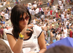 juli rox (jen clix) Tags: widespreadpanic wsp thegreek concert sunday berkeley california musicians band fan sunglasses