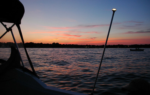 Sunset, Great South Bay by Alida's Photos