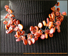 Collier vaporeux (lavomatic) Tags: fashion collier handmade main jewelry bijou clay jewels mode argile fait perle jewel polymer polymre bijouterie croquezmoicreation croquezmoicreationcom croquezmoi plomyer