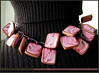 Collier vaporeux rose (lavomatic) Tags: pink fashion rose collier handmade main jewelry bijou clay jewels mode argile fait perle jewel polymer polymère bijouterie croquezmoicreation croquezmoicreationcom croquezmoi plomyer