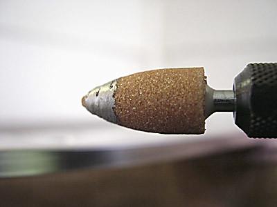 macro metal closeup diy sand aluminum bokeh spin oops melt grind bit tool rotary drill aluminium dremel