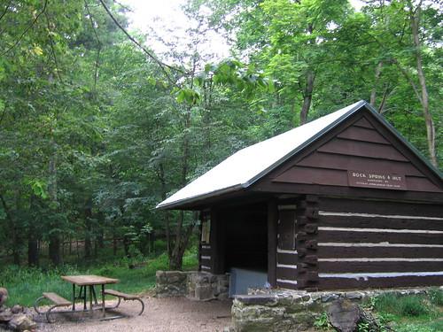 AT shelters  RockSpr Rock Spring Hut
