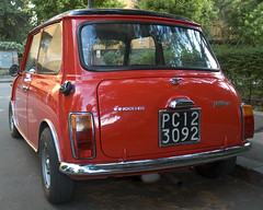 innocenti mini cooper (ilmungo) Tags: car vintage innocenti mini cooper back catchycolors red