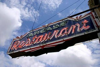 Arcade Restaurant Sign - Memphis, TN