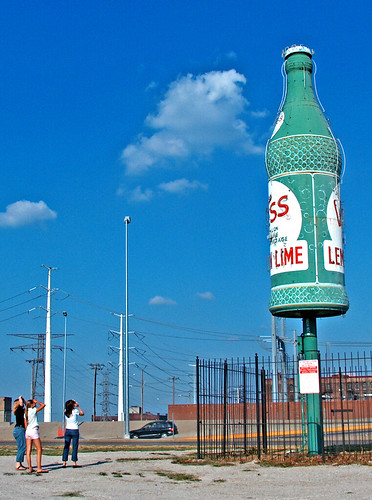 world's largest Vess bottle