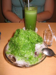 IMG_0246 (soloakewlstick) Tags: tokyo japan jr rail subway station dessert matcha greentea shavedice smoothie
