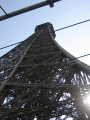"Eiffel Tower ""contre-jour"""