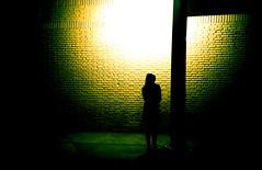 (.sereal.) Tags: brazil woman film topf25 topc25 topv111 wall brasil lomo lca xpro crossprocessed topf50 waiting bricks slide mg chrome ektachrome100g