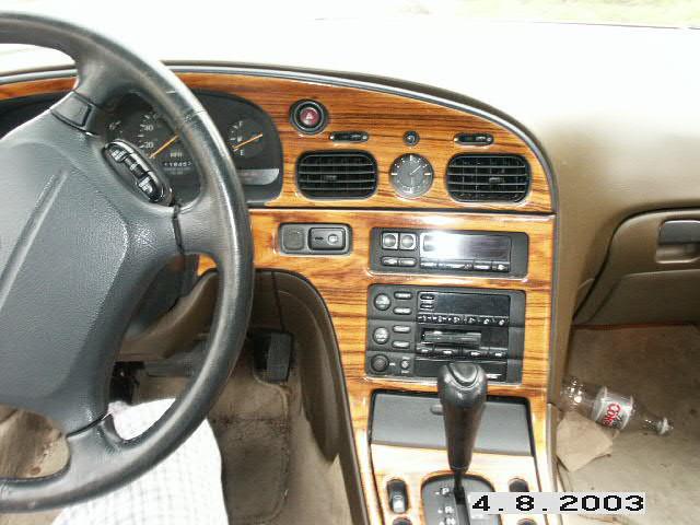 infiniti q45 1992 dashboard
