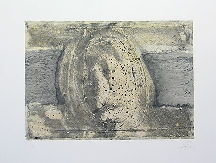 Antoni Tàpies, H. renversé, 1975