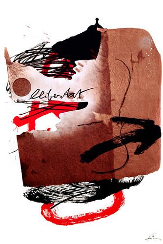 Antoni Tàpies, Llibertat, 1988