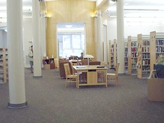 002 Interior Adams Library, Chelms. DECEMBER 4, 2002 (BARBARAJEAN) Tags: chelmsfordpubliclibrary